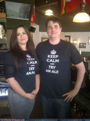 Pub Staff Outfit FAIL!