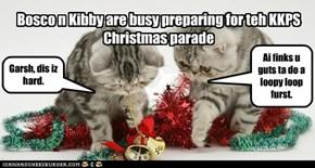 KKPS Crhistmas Parade preparations