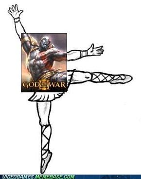Kratos is So Graceful