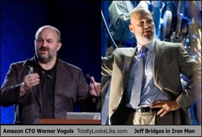 Amazon CTO Werner Vogels Totally Looks Like Jeff Bridges in Iron Man