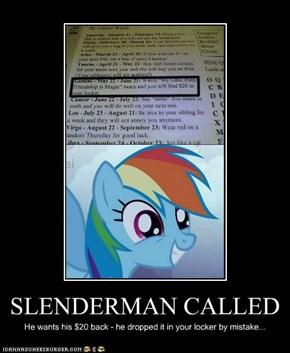 SLENDERMAN CALLED