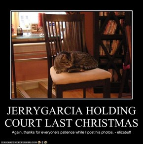 JERRYGARCIA HOLDING COURT LAST CHRISTMAS