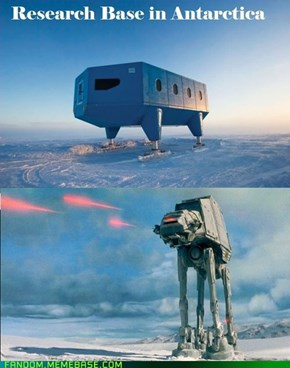Hoth is Real!