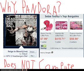Why, Pandora?