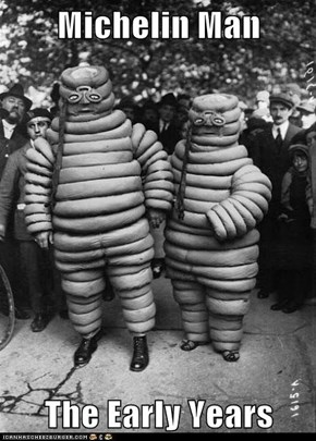Michelin Man  The Early Years