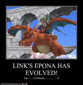 LINK'S EPONA HAS EVOLVED!