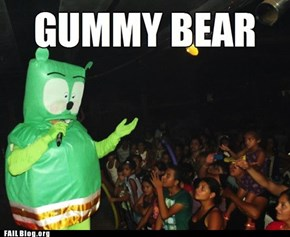 gummy bear Fail