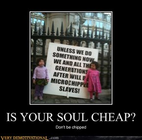 IS YOUR SOUL CHEAP?
