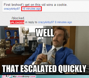 It was just an anti-brony vid!
