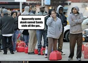 Sandy that Skank