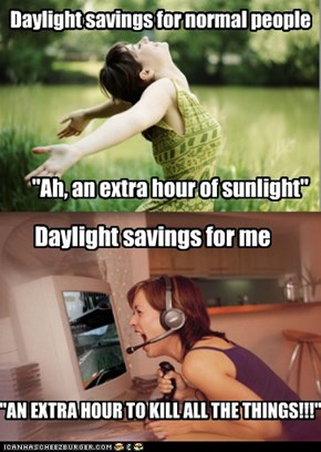 Daylight savings for normal people