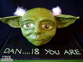 Yoda Cake WIN