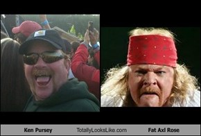 Ken Pursey Totally Looks Like Fat Axl Rose