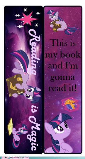 Twilight Sparkle bookmark