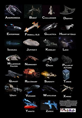 The Starship Alphabet