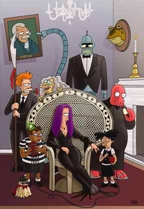 The Futurama Family