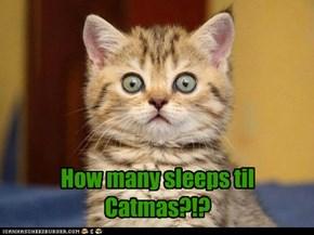 How many sleeps???