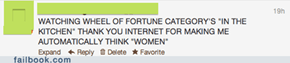 Thanks, Internet...