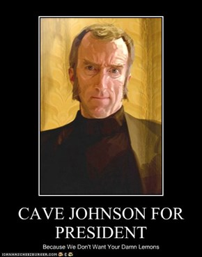 CAVE JOHNSON FOR PRESIDENT