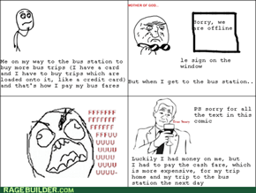 Bus Station Rage