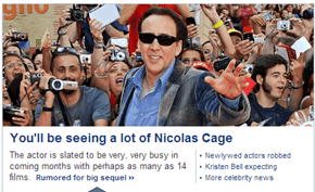 Our Prayers for More Nicolas Cage Have Been Answered!