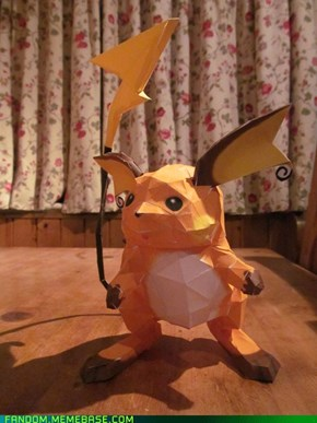 Raichu is now a paper type