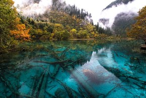 Five Color Lake by Evgeny Tchebotarev