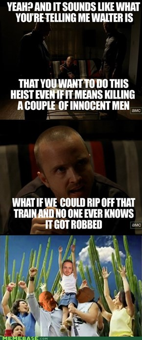 Breaking Bad Train Heist