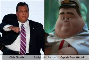 Chris Christie Totally Looks Like Captain from WALL-E