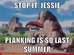 Jessie's Planking to the Max