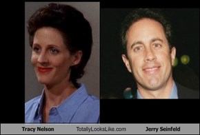 Tracy Nelson Totally Looks Like Jerry Seinfeld
