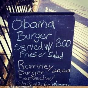 Romney Burger