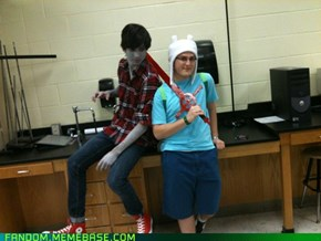 Finn and Marshall Lee Make A Great Duo!