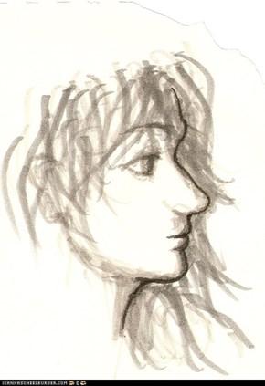 Woman I (sketch)