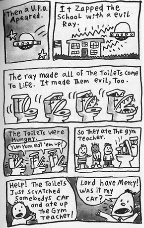 The Attack of the Evil Toilet