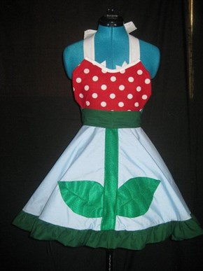 Totally Awesome Piranha Plant Apron!