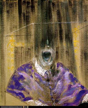 Head IV - by Francis Bacon