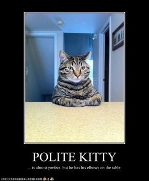 POLITE KITTY
