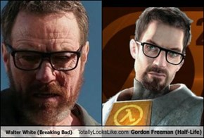 Walter White (Breaking Bad) Totally Looks Like Gordon Freeman (Half-Life)