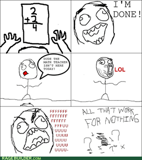 MATH HOMEWORK RAGE