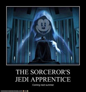 THE SORCEROR'S  JEDI APPRENTICE