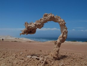 This is What Happens When Sand Gets Struck by Lightning