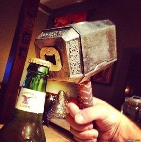 The Asgard Method of Bottle Opening