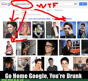 Oh, Google, you so crazy.