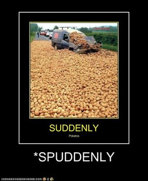 *SPUDDENLY