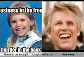 Murder in the Back girl Totally Looks Like Gary Busey