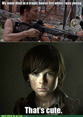 Carl's growing up