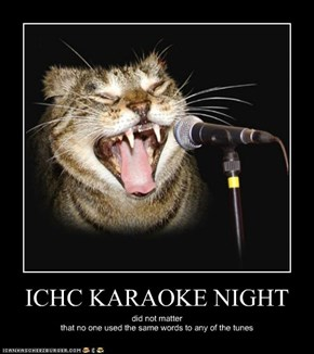 ICHC KARAOKE NIGHT