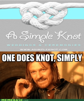 Boromir was right!