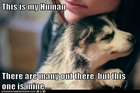 This is my Human  There are many out there, but this one is mine....